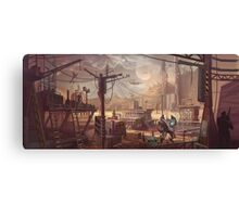 Mecha Wastes Canvas Print