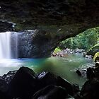 The Natural Bridge, Springbrook National Park, Queensland by burrster