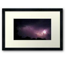 May 5 2012 Storm 180 Framed Print