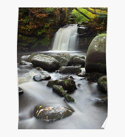 Thomasson Foss Waterfall Goathland Poster