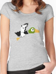 Duck Hunt Duck Women's Fitted Scoop T-Shirt