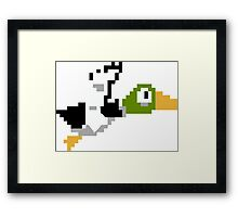 Duck Hunt Duck Framed Print