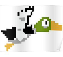Duck Hunt Duck Poster