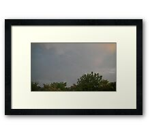 May 5 2012 Storm 196 Framed Print