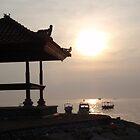 Bali Sunrise by cactus82