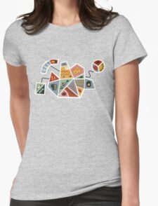 The Simple Health Shape Womens Fitted T-Shirt