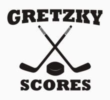 Gretzky Scores Kids Clothes