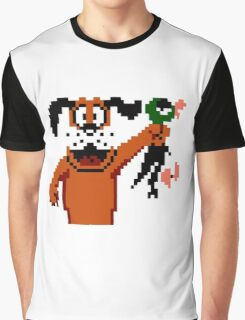 Duck Hunt Dog Graphic T-Shirt
