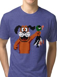 Duck Hunt Dog Tri-blend T-Shirt
