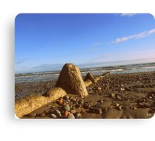 Rosslare Beach, Co. Wexford, Ireland... Canvas Print