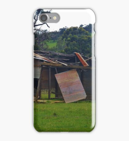 Farm Building - But For How Much Longer? iPhone Case/Skin