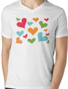 ♥ Sully's hearts ♥ Mens V-Neck T-Shirt