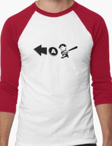 Ness - Over-A Men's Baseball ¾ T-Shirt