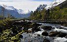 Olden, Norway by David Carton