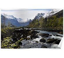 Olden, Norway Poster