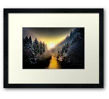 My Kind Of Place ~ Upper McKenzie River ~ Framed Print