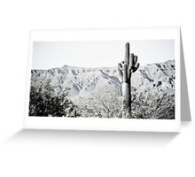 Saguaro Greeting Card