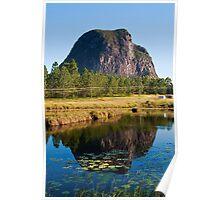 Mt Tibrogargan Reflection Poster