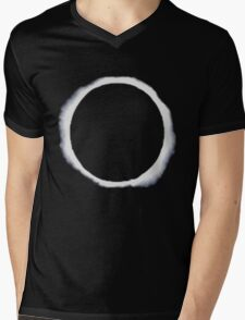 eclipse moon  Mens V-Neck T-Shirt