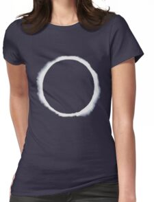 eclipse moon  Womens Fitted T-Shirt