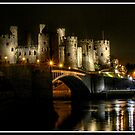Conwy Castle by alan tunnicliffe