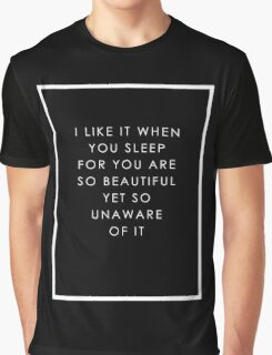 SLEEPY Graphic T-Shirt