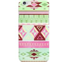 Neon Aztec iPhone Case/Skin