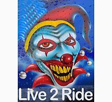 Harleys, Live 2 Ride Unisex T-Shirt