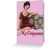 My Companion Greeting Card