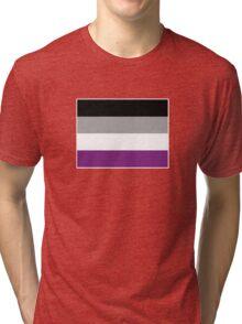 Asexual Pride Flag Tri-blend T-Shirt