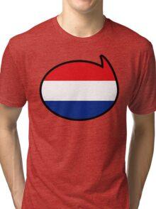 Netherlands Soccer / Football Fan Shirt / Sticker Tri-blend T-Shirt