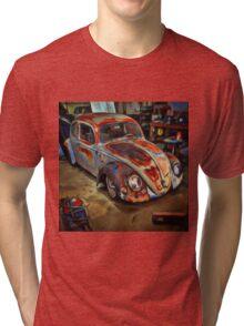 Garaged Tri-blend T-Shirt