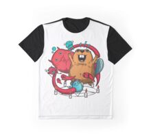 Beaver is a devil Graphic T-Shirt