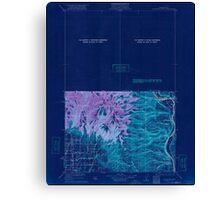 USGS Topo Map Washington State WA Colockum Pass 240602 1922 125000 Inverted Canvas Print