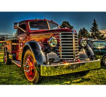 '49 Diamond T Photographic Print
