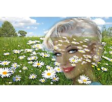 Daisies Hill Smile Photographic Print