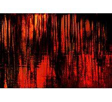 Liquid Love in Red Photographic Print