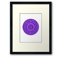 indigo third eye chakra Framed Print