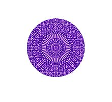 indigo third eye chakra Photographic Print