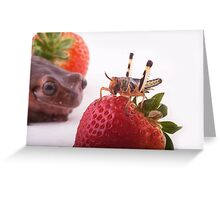 Time for snack Greeting Card