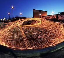 Urban Wire Wool by RobertGifford
