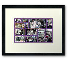 My Humble Abode & STUDIO Framed Print