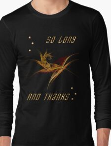 ALL THE GALACTIC FISH Long Sleeve T-Shirt