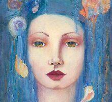 Blue Mermaid by anthemisblue