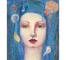 Blue Mermaid Photographic Print