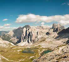 Dolomites panorama by emvalibe