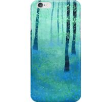 Bluebells, Challock iPhone Case/Skin