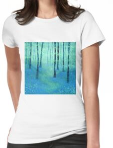 Bluebells, Challock Womens Fitted T-Shirt