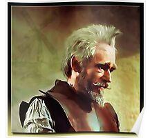 Don Quixote in Oil Poster