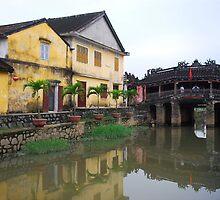 Japanese Bridge, Hoi An by mechelle142